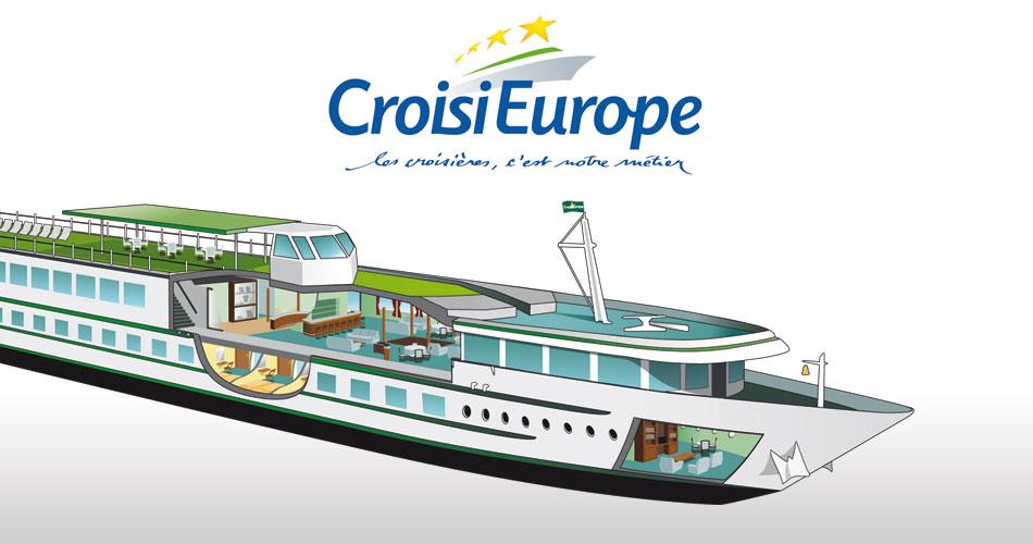 Création d'illustrations pour CroisiEurope
