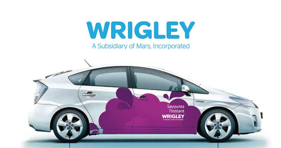 Habillage Toyota Prius Wrigley