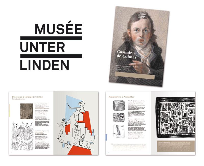 Brochure de l'exposition consacrée à Jean-Jacques Karpff