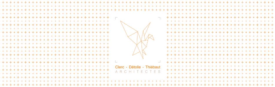 Logo Clerc- Détolle - Thiébaut / Architectes